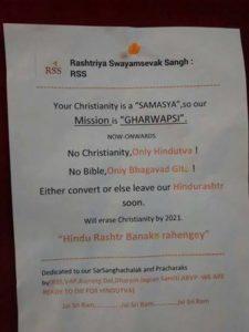 RSS's Christianity Samasya?