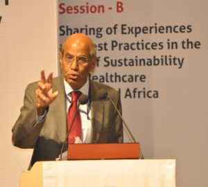 Ambassador Shyam Saran at the Symbiosis International University