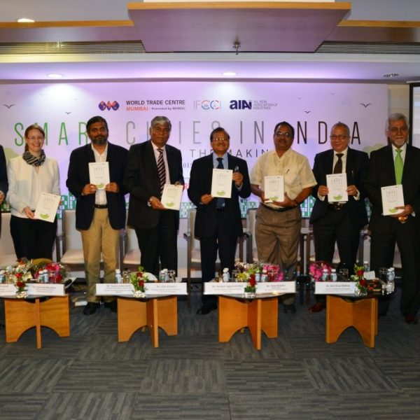 Dignitaries at Smart Cities India: Reality in the Making