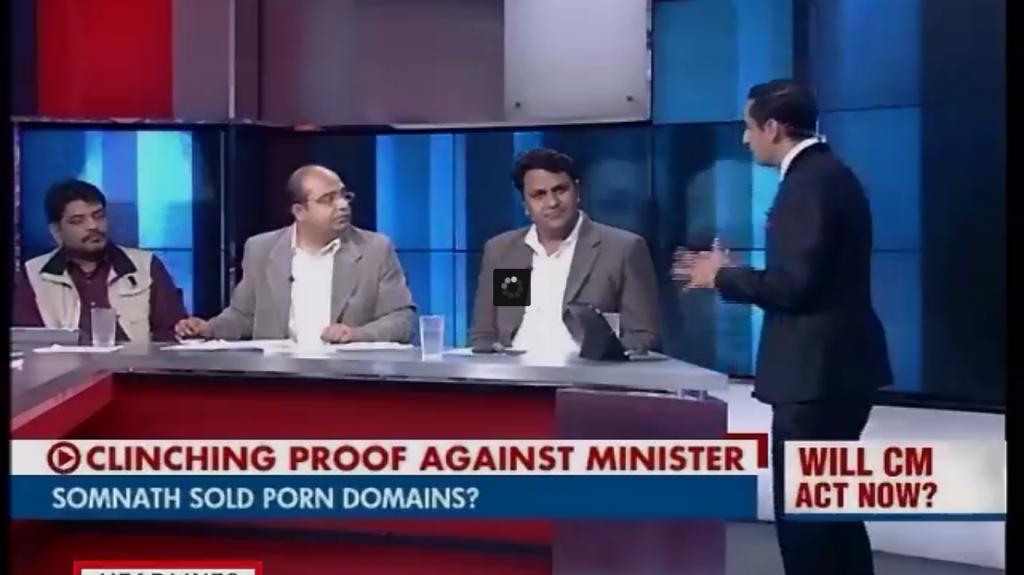 Somnath Bharti sold porn domains?