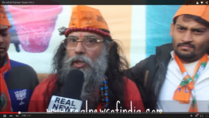 Real News of India exposes Swami Om and BJP's illegal election methods #Chilling