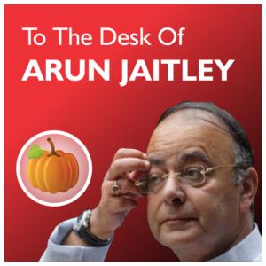 to Arun Jaitley