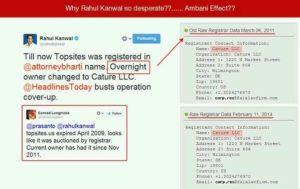 rahul kanwal allegation somnath bharti topsites