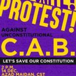Protest opposing Citizenship Amendment Bill at Azad Maidan on 14th #Mumbai 35