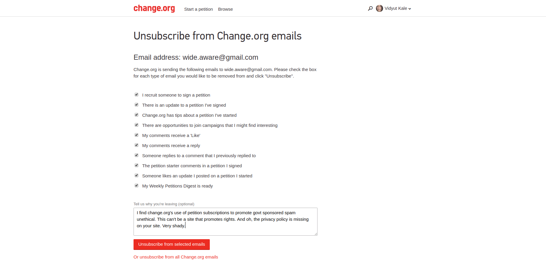unsubscribe-from-change-org