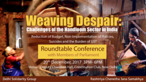 Weaving Despairs: Challenges of the Handloom Sector in India