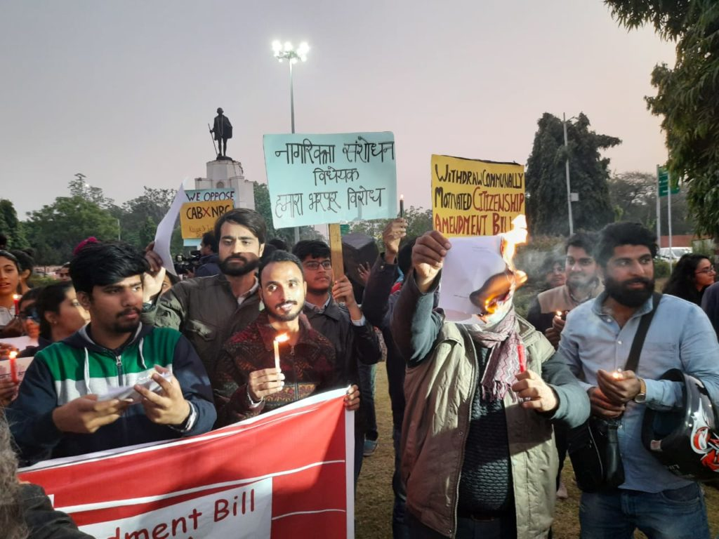 Human Rights Day observed on the streets of Jaipur protesting CAB and NRC 21