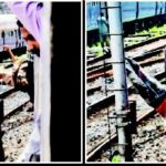Railway daredevils: Mumbai local train stunts
